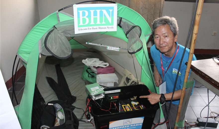 Backpack Radio Station Can Bring Relief Broadcasts during Emergencies