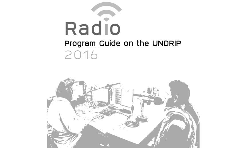 Radio Program Guide on the UN Declaration on the Rights of Indigenous Peoples (UNDRIP)