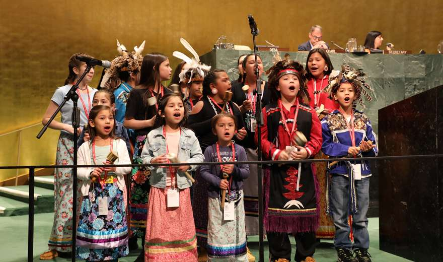 Indigenous peoples and the UN Triumphs