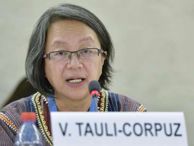 Victoria Tauli-Corpuz Says Funding for Indigenous communities is insufficient